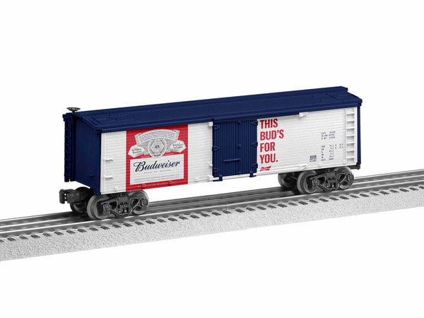 "Lionel 6-85248 Budweiser Beer Reefer Car ""This Bud's For You"""