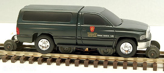 Lionel 6-18438 Pennsylvania Dodge Ram Motorized On-Track Inspection Vehicle