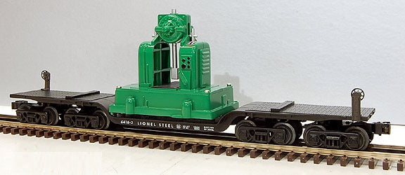 Lionel 6-36900 Depressed Center Flatcar with Locomotive Backshop Load