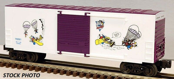 Lionel 6-19261 Disney The Perils of Mickey Hi-cube Boxcar