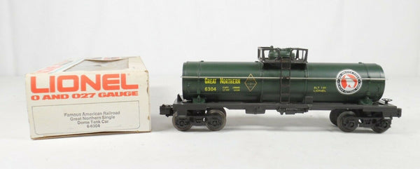 Lionel 6-6304 Great northern Tank Car