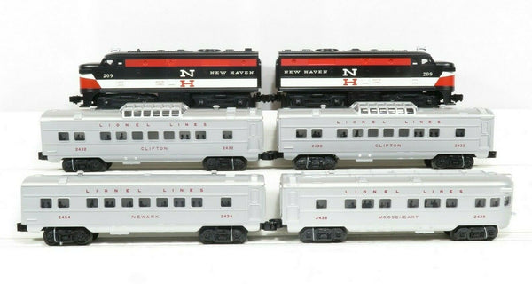 Lionel 6-52423 LCCA 1608W New Haven Alco Diesel Passenger Set