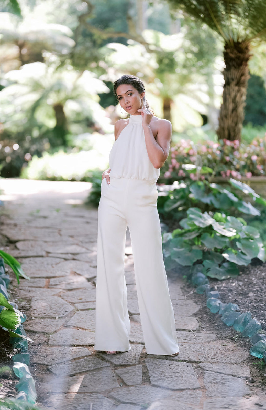 Danielle Wedding Jumpsuit - Daphne Newman Design