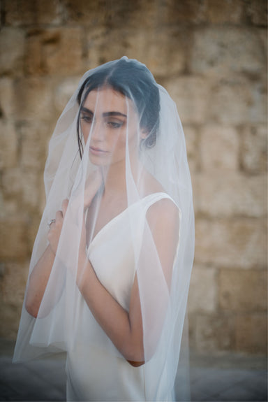 Detachable Blusher Veil - Daphne Newman Design