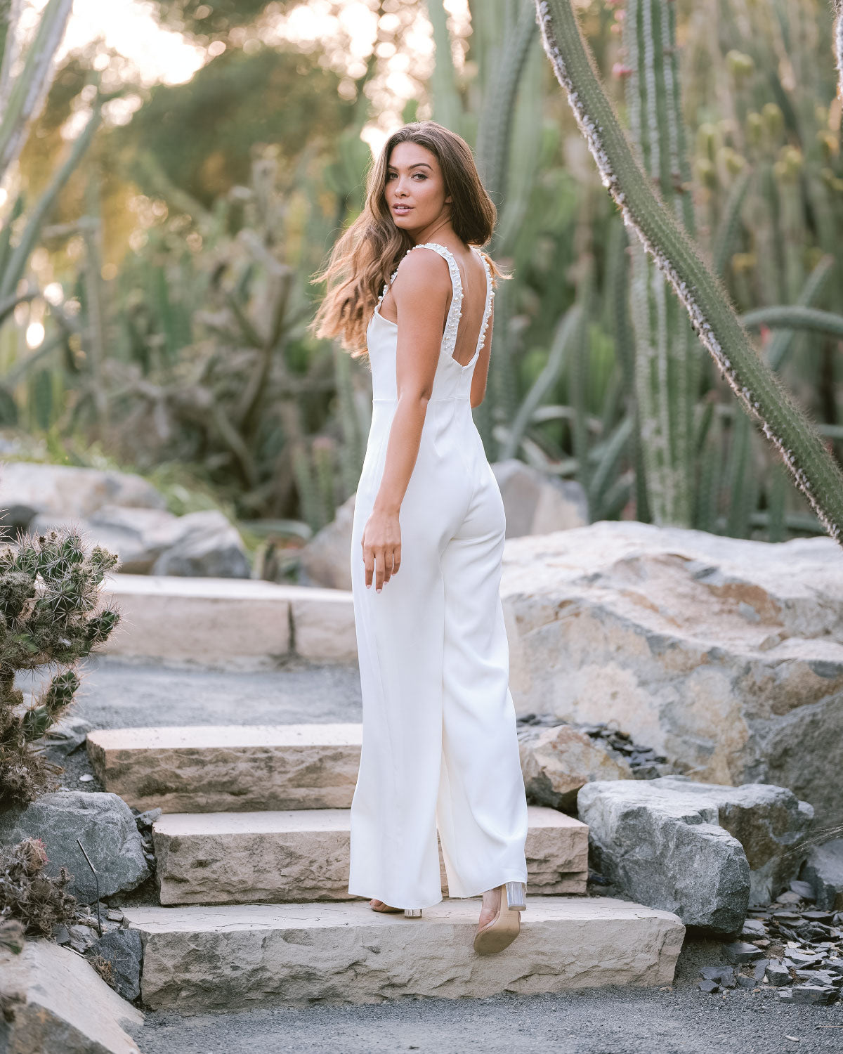 Sample Remi Bridal Jumpsuit - Daphne Newman Design