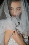 Lucca Bridal Veil with Swarovski Crystals by Daphne Newman