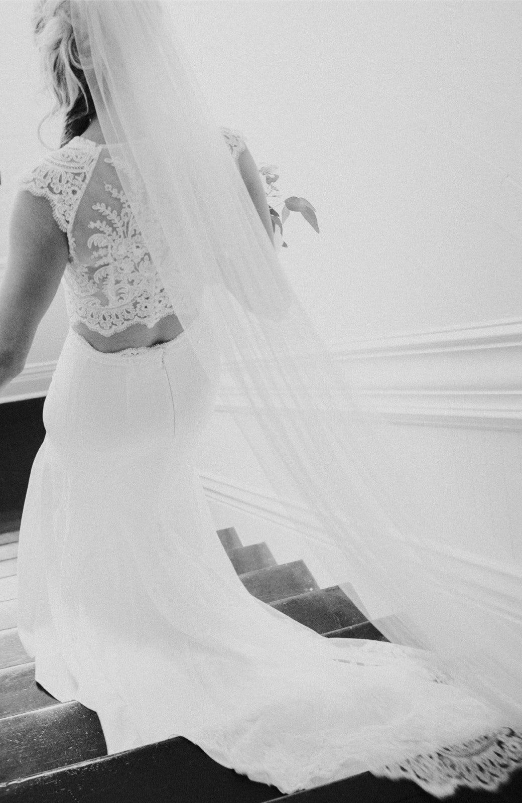 The Classic Silk Tulle Wedding Veil - Daphne Newman Design