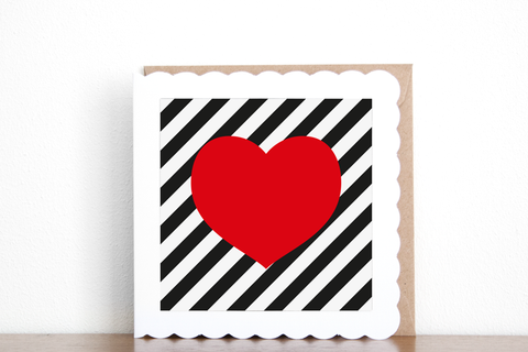 Heart Greeting Card