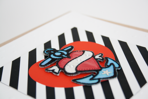 Tattoo Patch Greeting Card