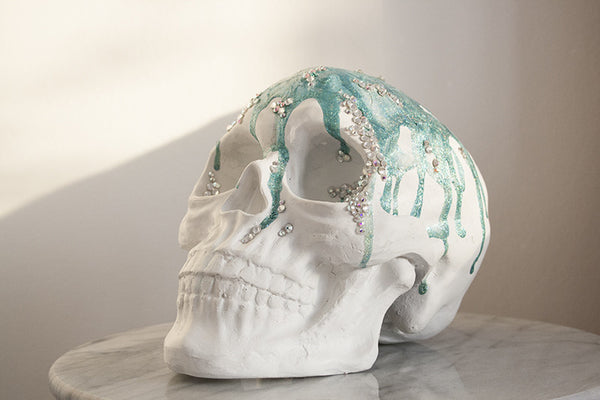 Mermaid Skull Original Art