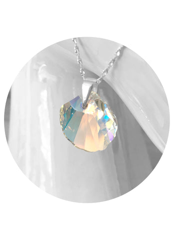 Swarovski Crystal Shell Necklace