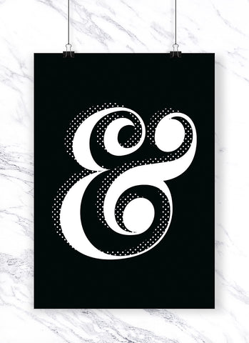 Ampersand Luxe Art Print