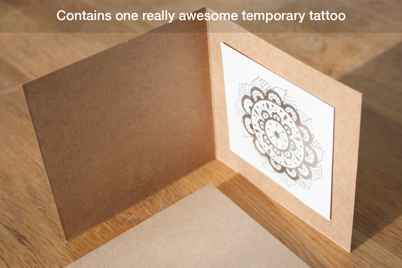 Postable Temporary Tattoo