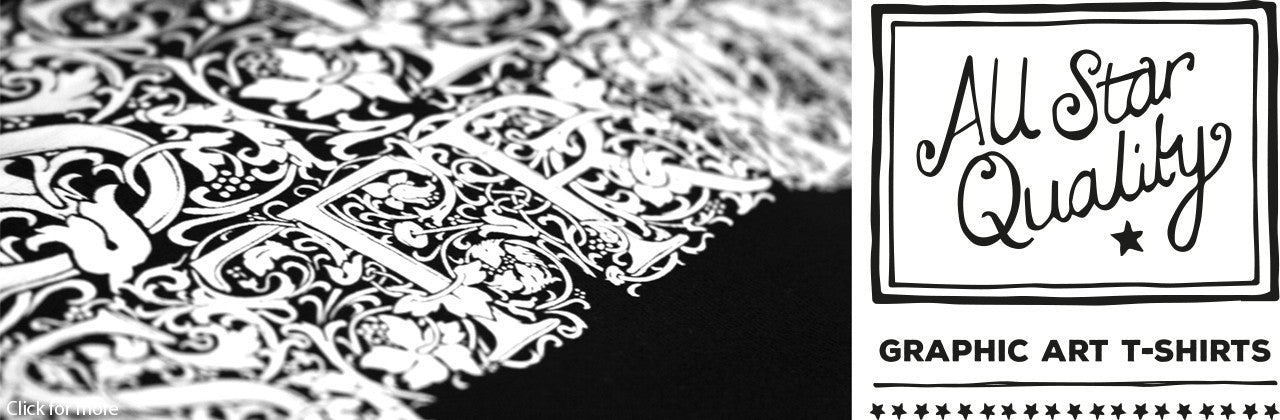 Beautiful black and white typography t-shirt