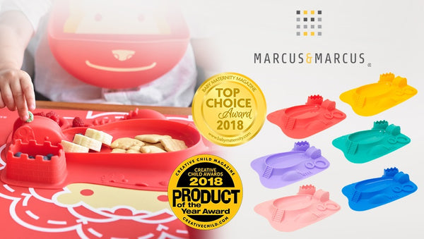Amusemats - The Marcus & Marcus Plate for picky eaters