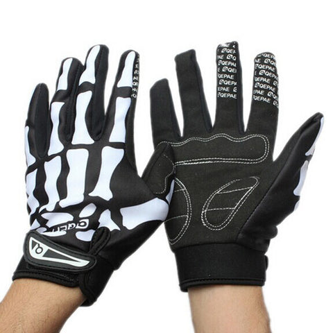 Skull Gloves Sport Motorcycle