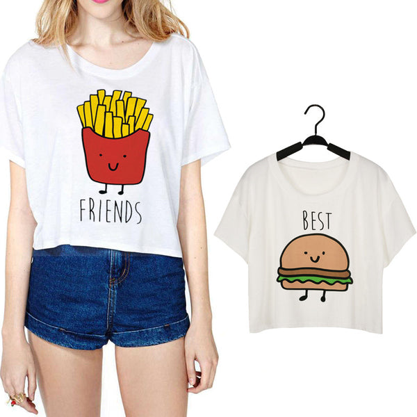 Food Printed Women's Casual T-Shirt