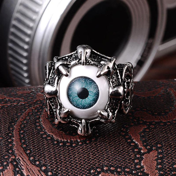 Dragon Claw Evil Eye Ring