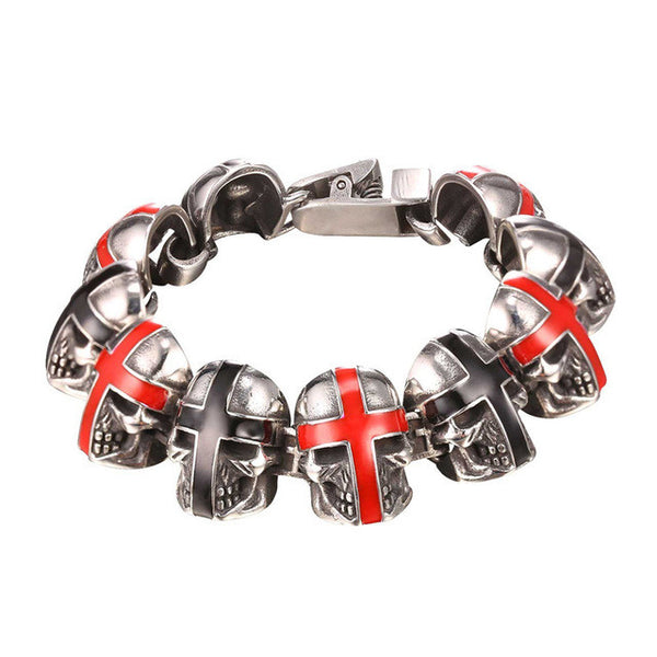 Awesome Cross Skull Bracelets