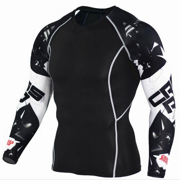 3D TeenWolf High-Quality Compression LongSleeve