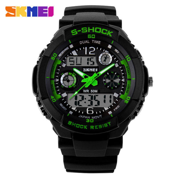 Skmei S-Shock Led Digital Sports Watch