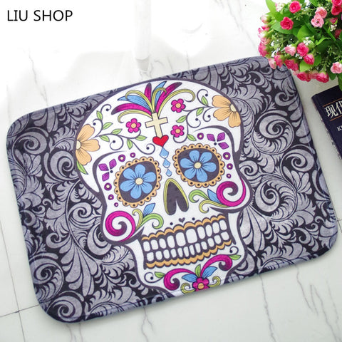Fashion Skull Carpet Decorative Rug