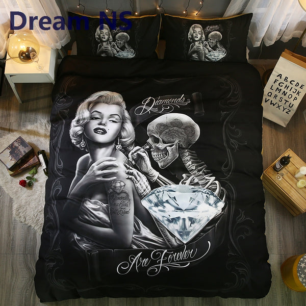 Elegant Marilyn Monroe Duvet Cover Set