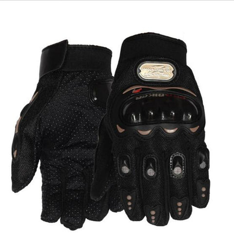 Motorcycle Cycling Racing Full Finger Protect Gloves
