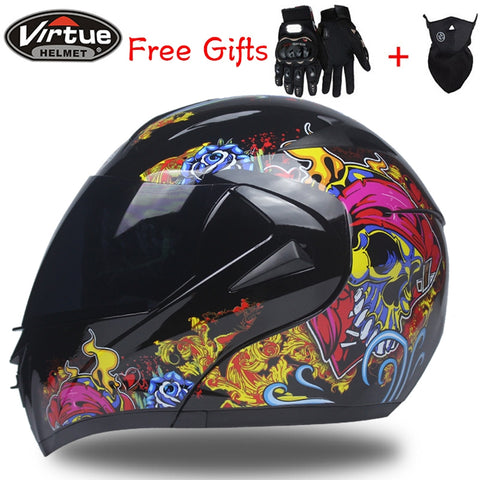 Top Quality Dual Visor System Full Face Helmet