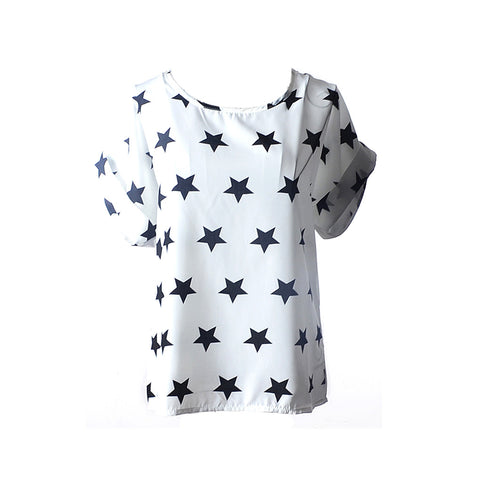 Assorted Prints Women's Casual T-Shirt