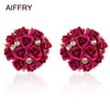 Roses Stud Earrings