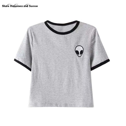 Alien Logo Casual T-Shirt