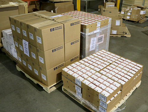 HP Cartridge pallet
