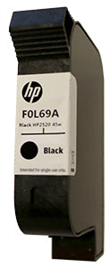 HP 2520 Black Dye/Pigment Blend Ink Cartridge