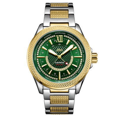 JBW Watches - Globetrotter 10 YR | J6365-10D-GB Second Chance (Grade B)