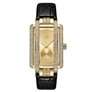 1 Jbw Mink J6358l D Gold Black Leather Diamond Watch Front_cba82705 0710 4d06 92d8 76a1d05110c5