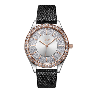 1-jbw-mondrian-j6367-10c-two-tone-rose-gold-stainless-steel-diamond-watch-black-leather-band-front