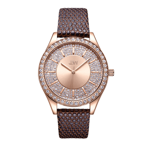 1-jbw-mondrian-j6367-10d-rose-gold-diamond-watch-brown-leather-band-front