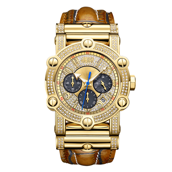 1-jbw-phantom-jb-6215-10c-gold-brown-leather-diamond-watch-front