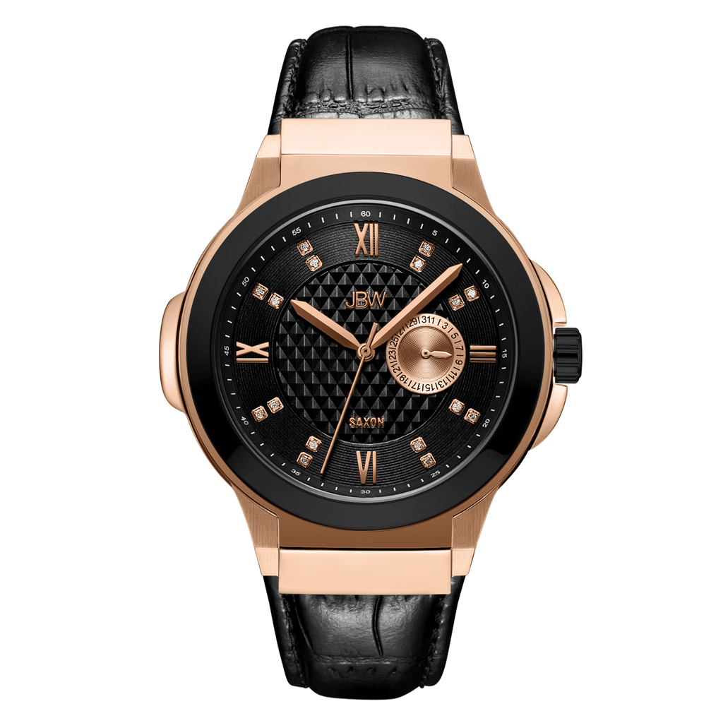 1-jbw-saxon-48-j6373e-rose-gold-black-leather-diamond-watch-front