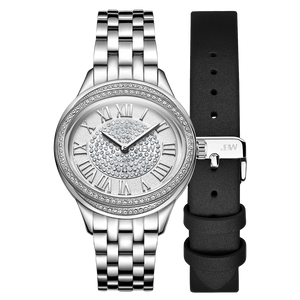1.2-jbw-plaza-j6366a-stainless-steel-diamond-watch-black-leather-band-set-front