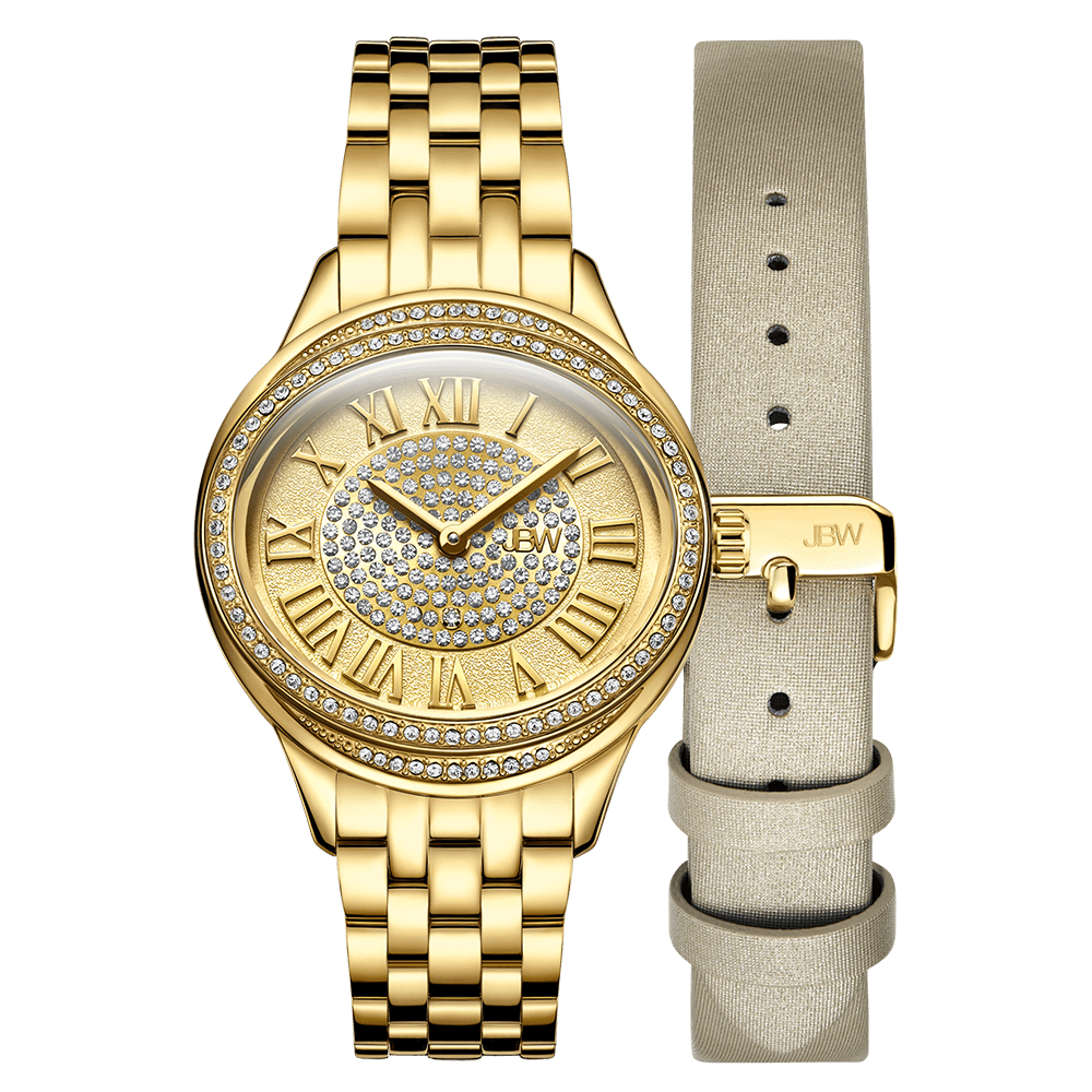 1.2-jbw-plaza-j6366b-gold-diamond-watch-gold-leather-band-set-front
