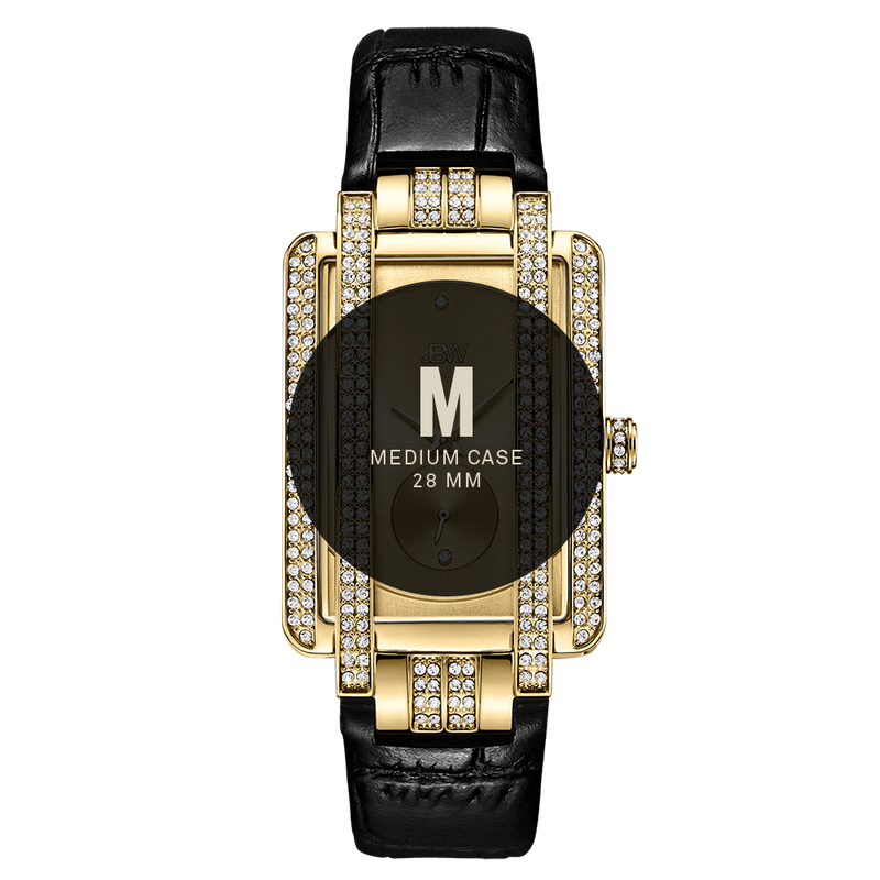 7 Jbw Mink J6358l D Gold Black Leather Diamond Watch Size Fit_fee79431 B2f5 47ae 898d A93b94791cf5
