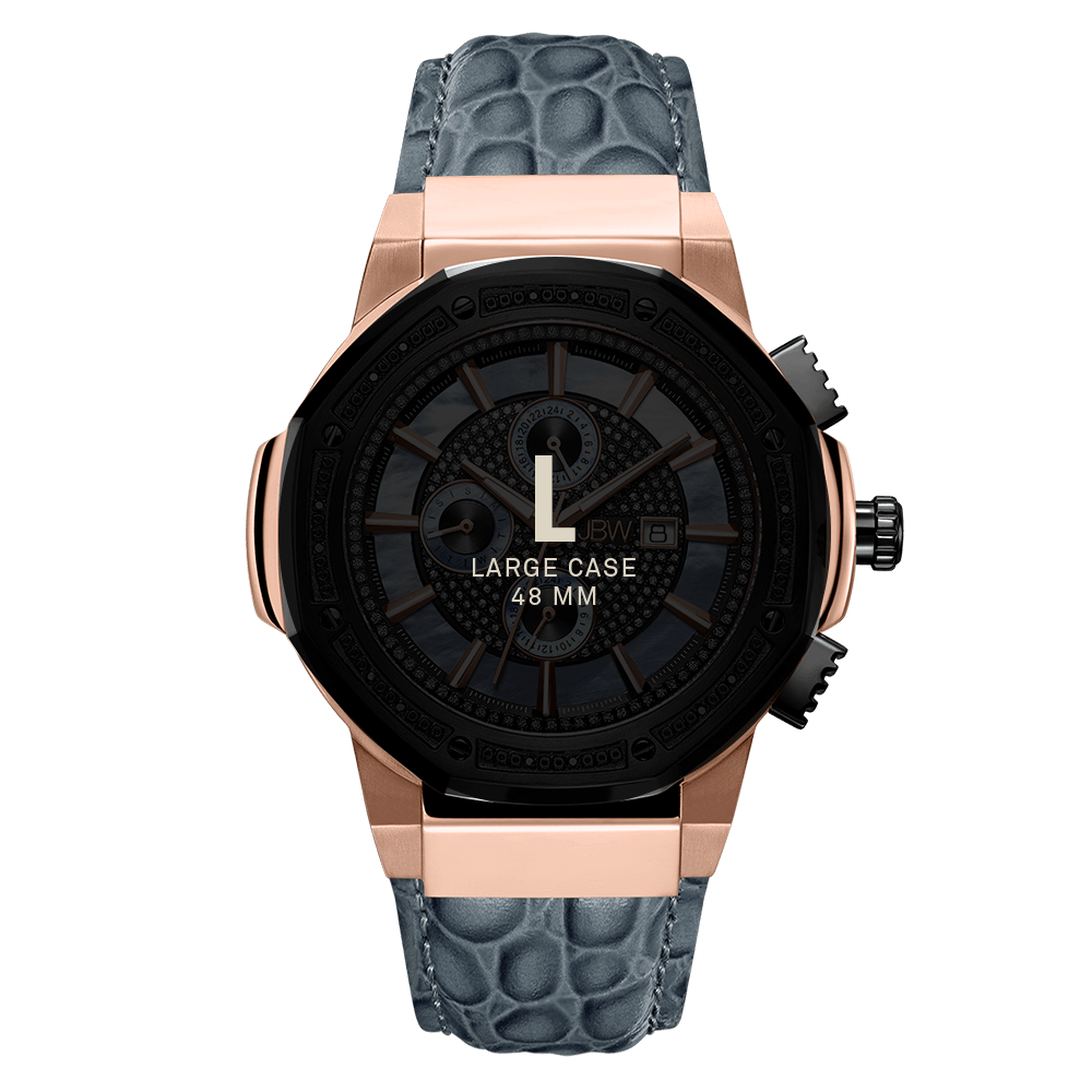 7-jbw-saxon-jb-6101l-10c-two-tone-rose-gold-black-ion-gray-leather-diamond-watch-size-fit