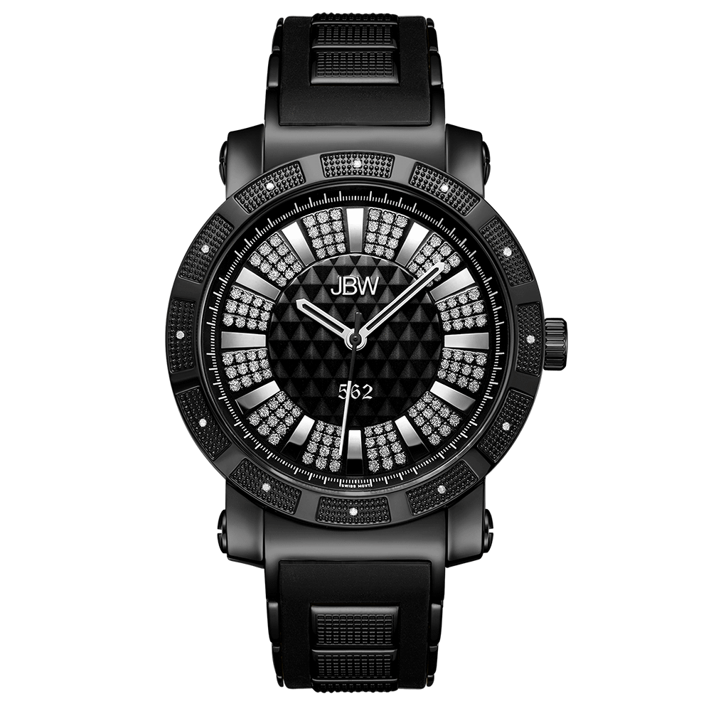 jbw-562-jb-6225-k-black-ion-black-silicone-diamond-watch-front