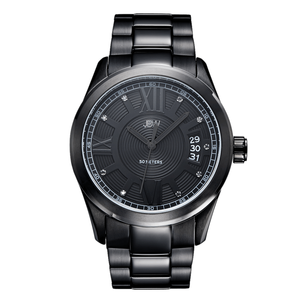 jbw-bond-j6311d-black-ion-black-ion-diamond-watch-front