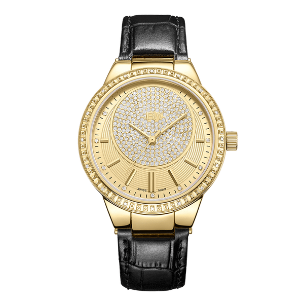 jbw-camille-j6345c-gold-black-leather-diamond-watch-front