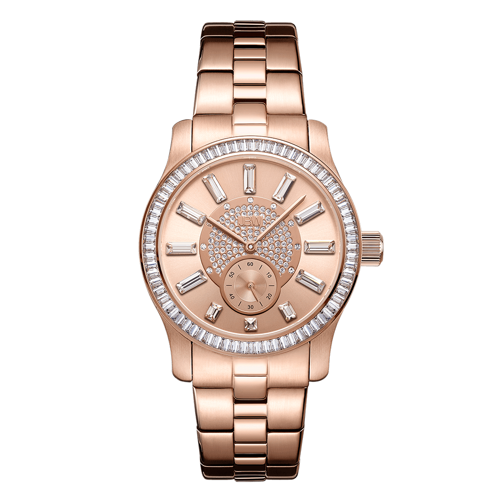 jbw-celine-j6349d-rose-gold-diamond-watch-front
