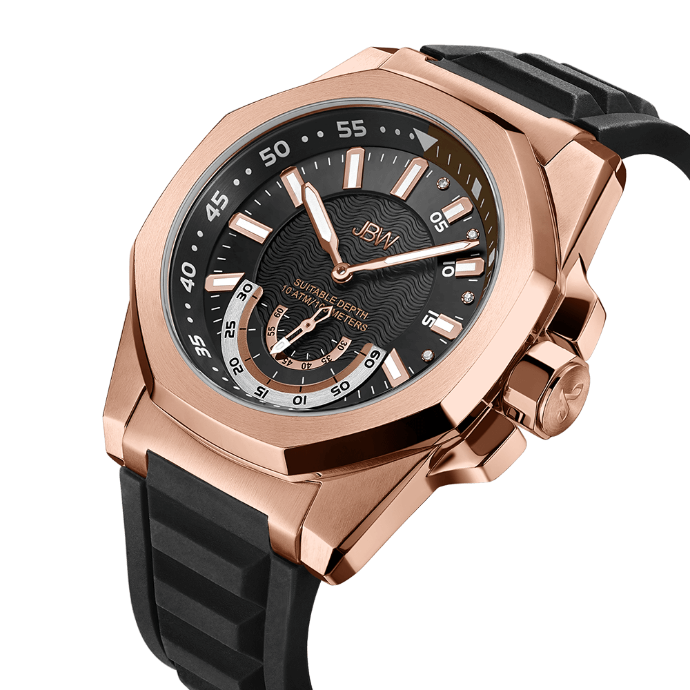 jbw-delmare-j6359b-rose-gold-black-silicone-diamond-watch-angle