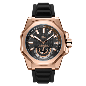 jbw-delmare-j6359b-rose-gold-black-silicone-diamond-watch-front